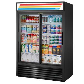 TRUGDM47HCLD - True - GDM-47-HC-LD - 47 cu ft Refrigerated Merchandiser w/ 2 Sliding Doors Product Image