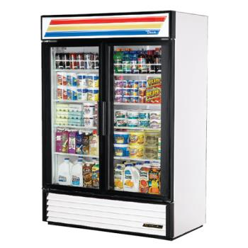 TRUGDM49 - True - GDM-49-LD - 49 cu ft Refrigerated Merchandiser w/ 2 Swing Doors Product Image