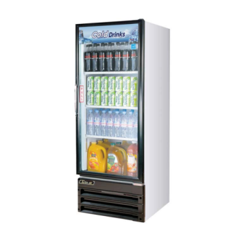 TURTGM11RV - Turbo Air - TGM-11RV - 11 cu/ft Refrigerated Merchandiser with 1 Swing Door Product Image