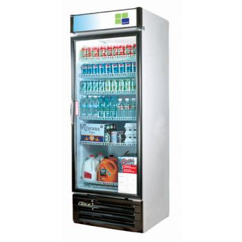 TURTGM14RV - Turbo Air - TGM-14RV - 14 cu/ft Refrigerated Merchandiser with 1 Swing Door Product Image