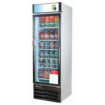 TURTGM22RV - Turbo Air - TGM-22RV - 22 cu/ft Refrigerated Merchandiser with 1 Swing Door Product Image