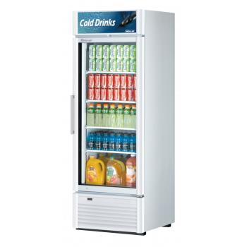 TURTGM23SDWN6 - Turbo Air - TGM-23SDW-N6 - 19.4 cu/ft 1-Door White Refrigerated Merchandiser Product Image