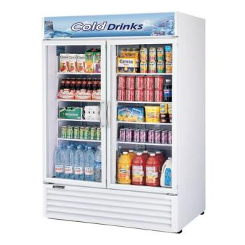 TURTGM50RS - Turbo Air - TGM-50RS - 50 cu/ft Refrigerated Merchandiser w/ 2 Swing Doors Product Image