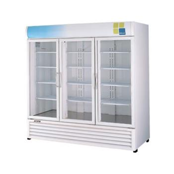TURTGM72RS - Turbo Air - TGM-72RS - 72 cu/ft Refrigerated Merchandiser w/ 3 Swing Doors Product Image