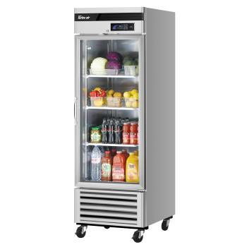 TURTSR23GSDN6 - Turbo Air - TSR-23GSD-N6 - 1 Door Super Deluxe Refrigerated Merchandiser Product Image