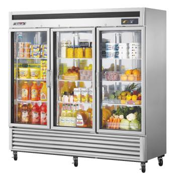 TURTSR72GSDN - Turbo Air - TSR-72GSD-N - 3 Door Super Deluxe Refrigerated Merchandiser Product Image