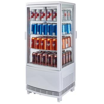 99268 - Winco - CRD-1 - 120V Countertop Refrigerated Beverage Display Product Image