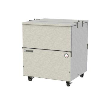 BEVST34NHCS - Beverage Air - ST34N-S - 34 in S/S Dual Access Cold Wall Milk Cooler Product Image