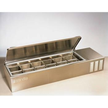 "SILSKPS12 - Silver King - SKPS12/C1 - 56 3/4"" Refrigerated Countertop Prep Unit Product Image"