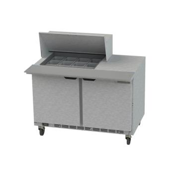 BEVSPE48HC12M - Beverage Air - SPE48HC-12M - 48 in Mega Top Prep Table Product Image
