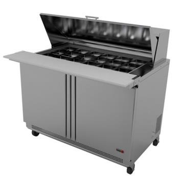 FGAFMT6024 - Fagor - FMT-60-24 - 60 in 24 Pan Mega Top Prep Table Product Image