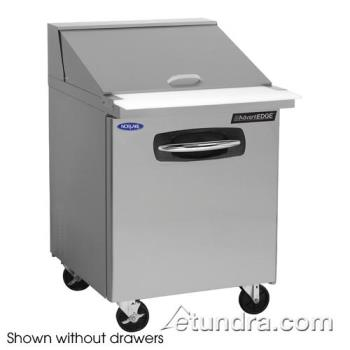 NORNLSMP2712001 - Nor-Lake - NLSMP27-12-001 - AdvantEDGE 2 Drawer 27 in Mega Top Prep Table Product Image