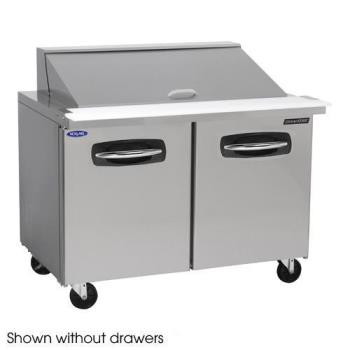 NORNLSMP4818002 - Nor-Lake - NLSMP48-18-002 - AdvantEDGE 2 Drawer 48 in Mega Top Prep Table Product Image