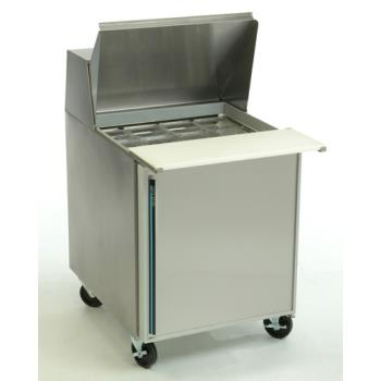 SILSKP2712 - Silver King - SKP2712/C2 - 1 Door Mega Top Sandwich / Salad Prep Table Product Image