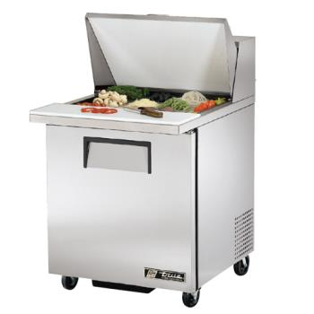 TRUTSSU2712MB - True - TSSU-27-12M-B - Mega Top 1 Door Sandwich Prep Table Product Image