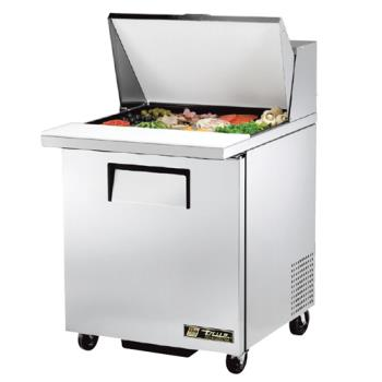 TRUTSSU2712MC - True - TSSU-27-12M-C - Mega Top 1 Door Sandwich Prep Table Product Image