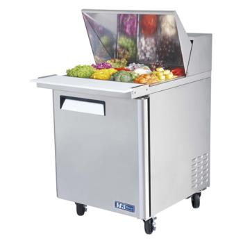 TURMST2812 - Turbo Air - MST-28-12 - M3 Series Mega Top 1 Door Sandwich Prep Table Product Image