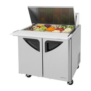 TURTST36SD15N6 - Turbo Air - TST-36SD-15-N6 - Super Deluxe 36 in Mega Top Sandwich Prep Table Product Image