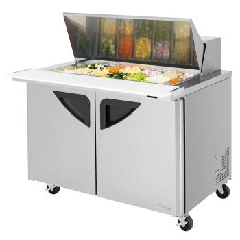 TURTST48SD18N - Turbo Air - TST-48SD-18-N - Super Deluxe 48 in Mega Top Sandwich Prep Table Product Image