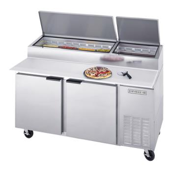 BEVDP67 - Beverage Air - DP67 - 67 in Pizza Prep Table Product Image
