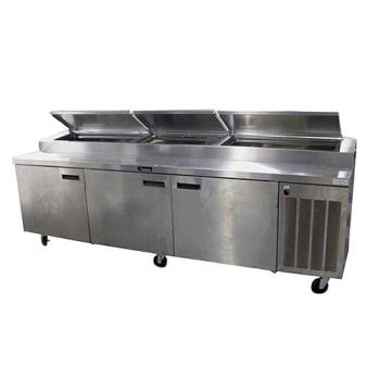 DEL186114PTBM - Delfield - 186114PTBM - 114 in Refrigerated Pizza Prep Table Product Image