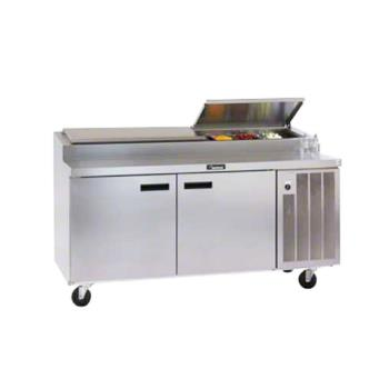 DEL18672PTBM - Delfield - 18672PTBM - 72in Refrigerated Pizza Prep Table Product Image