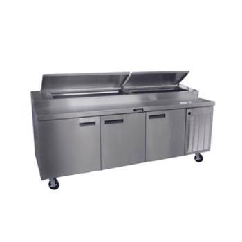 DEL18699PTBM - Delfield - 18699PTBM - 99 in Refrigerated Pizza Prep Table Product Image