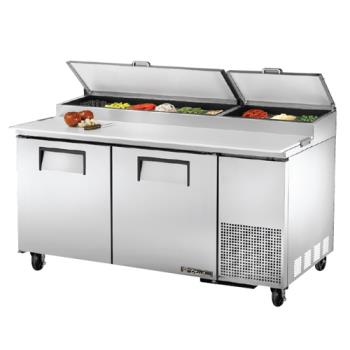 "TRUTPP67 - True - TPP-67 - 2 Door 67"" Pizza Prep Table Product Image"
