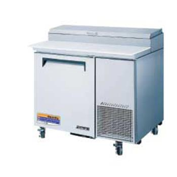TURTPR44SD - Turbo Air - TPR-44SD - Super Deluxe 1 Door Pizza Prep Table Product Image
