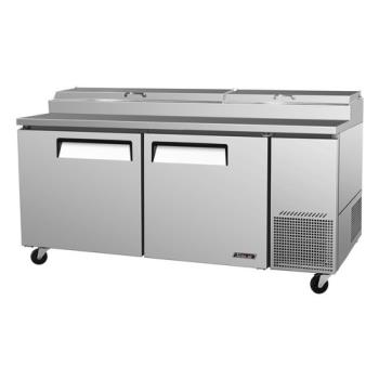 TURTPR67SD - Turbo Air - TPR-67SD - Super Deluxe 2 Door Pizza Prep Table Product Image