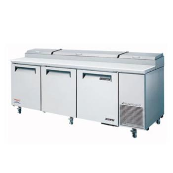 TURTPR93SD - Turbo Air - TPR-93SD - Super Deluxe 3 Door Pizza Prep Table Product Image