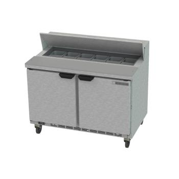 BEVSPE48HC1209 - Beverage Air - SPE48HC-12-09 - 48 in Prep Table w/ Locking Doors Product Image