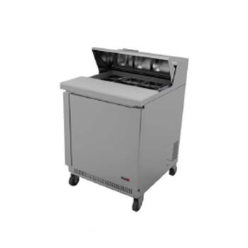 FGAFST278 - Fagor - FST-27-8 - 27 in 8 Pan Salad Top Prep Table Product Image
