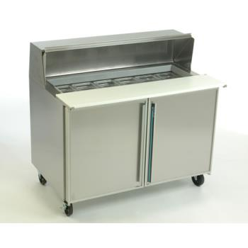 SILSKP4812 - Silver King - SKP4812 - 2 Door Refrigerated Sandwich / Salad Prep Table Product Image