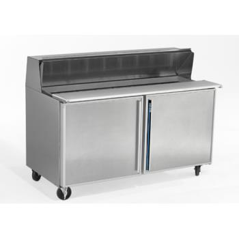 SILSKP6016 - Silver King - SKP6016 - 2 Door Refrigerated Sandwich / Salad Prep Table Product Image