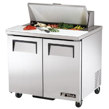 "TRUTSSU368 - True - TSSU-36-8 - 2 Door 36"" Sandwich Prep Table Product Image"