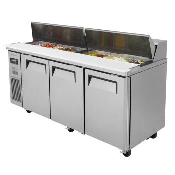 TURJST72N - Turbo Air - JST-72-N - 72 in Sandwich Prep Table Product Image