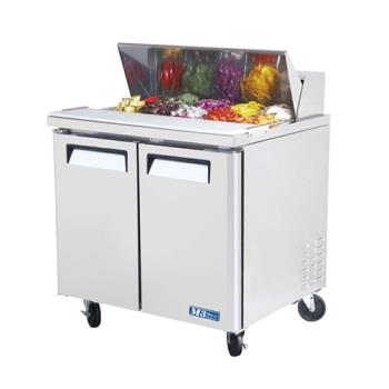 TURMST36 - Turbo Air - MST-36 - M3 Series 2 Door 36 in Sandwich Prep Table Product Image