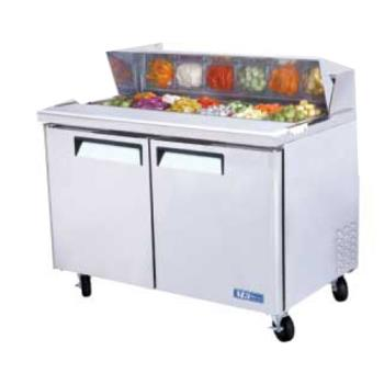 TURMST48 - Turbo Air - MST-48 - M3 Series 2 Door 48 in Sandwich Prep Table Product Image