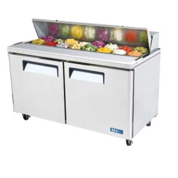 TURMST60 - Turbo Air - MST-60 - M3 Series 2 Door 60 in Sandwich Prep Table Product Image