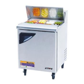 TURTST28SD - Turbo Air - TST-28SD - Super Deluxe 1 Door Sandwich Prep Table Product Image