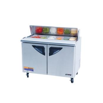 "95453 - Turbo Air - TST-48SD - Super Deluxe Series 2 Door 48"" Sandwich Prep Table Product Image"