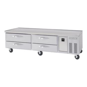 BEVWTRCS841 - Beverage Air - WTRCS84-1 - 84 in Refrigerated Chef Base Product Image