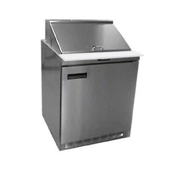 DEL4427N12M - Delfield - 4427N-12M - 3 Section 27 1/8 in Mega Top Refrigerated Base w/ Doors Product Image