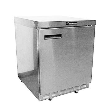 DEL4432N - Delfield - 4432N - 1 Section 32 1/8 in Flat Top Refrigerated Base w/ Doors Product Image