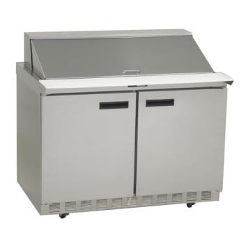 DEL4448N18M - Delfield - 4448N-18M - 2 Section 48 1/8 in Mega Top Refrigerated Base w/ Doors Product Image