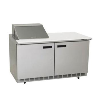 DEL4460N12M - Delfield - 4460N-12M - 2 Section 60 1/8 in Mega Top Refrigerated Base w/ Doors Product Image