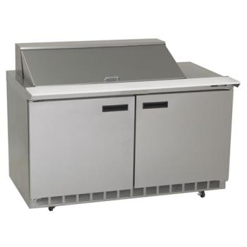 DEL4460N18M - Delfield - 4460N-18M - 2 Section 60 1/8 in Mega Top Refrigerated Base w/ Doors Product Image