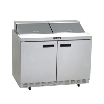 DEL4460N - Delfield - 4460N - 2 Section 60 1/8 in Flat Top Refrigerated Base w/ Doors Product Image