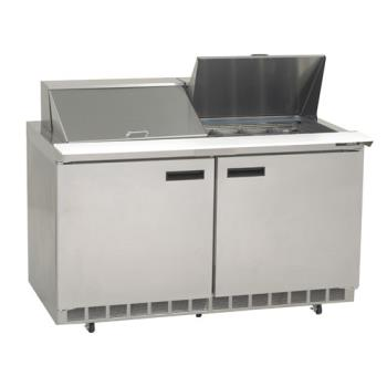 DEL4460N24M - Delfield - 4460N-24M - 2 Section 60 1/8 in Mega Top Refrigerated Base w/ Doors Product Image